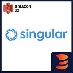 Singular to S3 Downloader logo