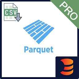 CSV to Parquet Formatter Pro logo