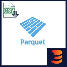 CSV to Parquet Formatter logo